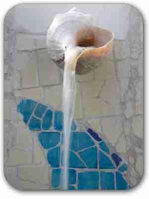 seashell-fixtures-at-Casa-Violeta Sustainable Design