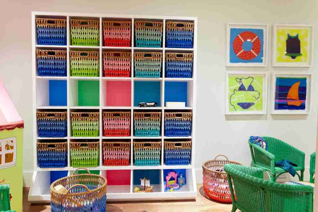 playroom kids storage