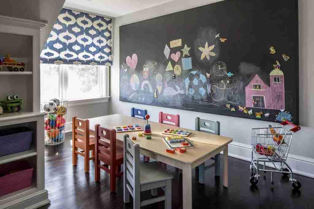 Recreation Room Lisa Frantz Interiors Elle Decor